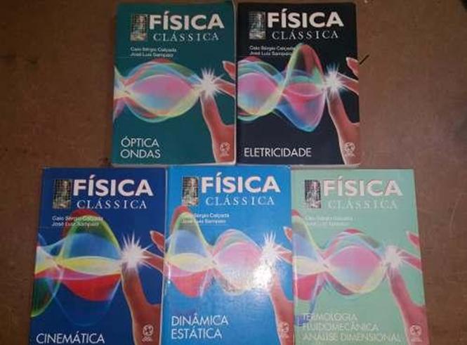 Coleção de livros Física Clássica para o vestibular do ita