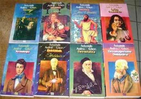 Coleção de Livros do Robortela para o vestibular do ita